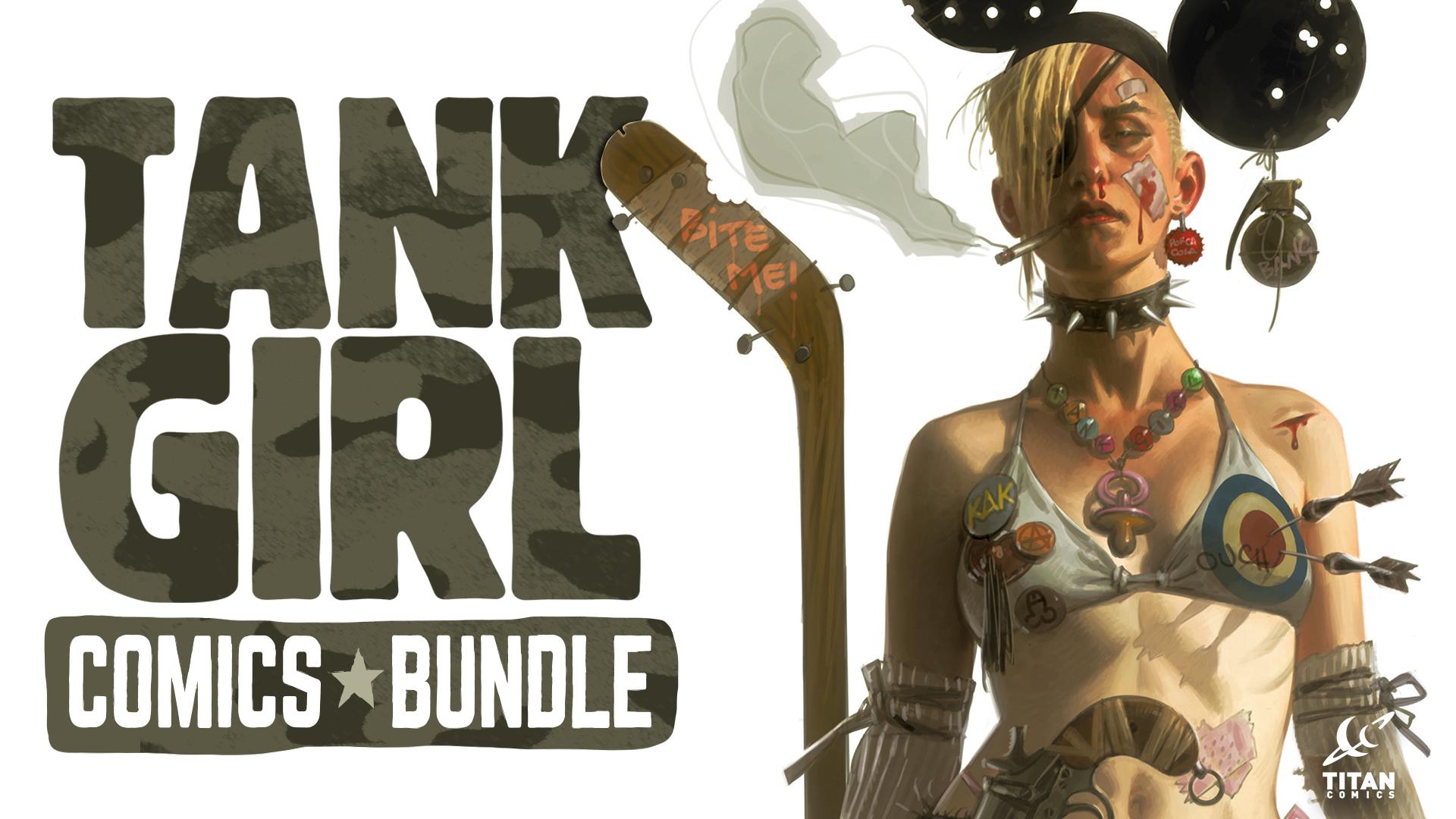 Tank Girl Comics Bundle Presented By Titan Comics Game Bundle