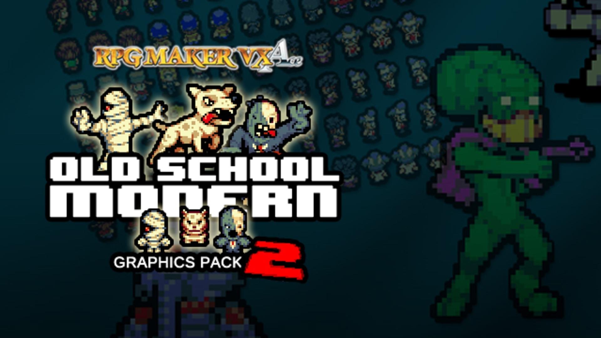 RPG Maker: Old School Modern 2 Resource Pack DLC | PC Steam Game