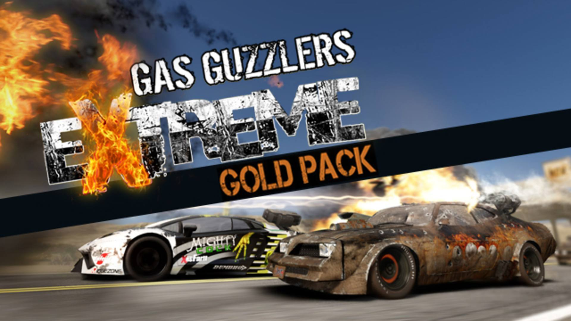 Gas Guzzlers Extreme Gold Pack | PC Steam Game | Fanatical