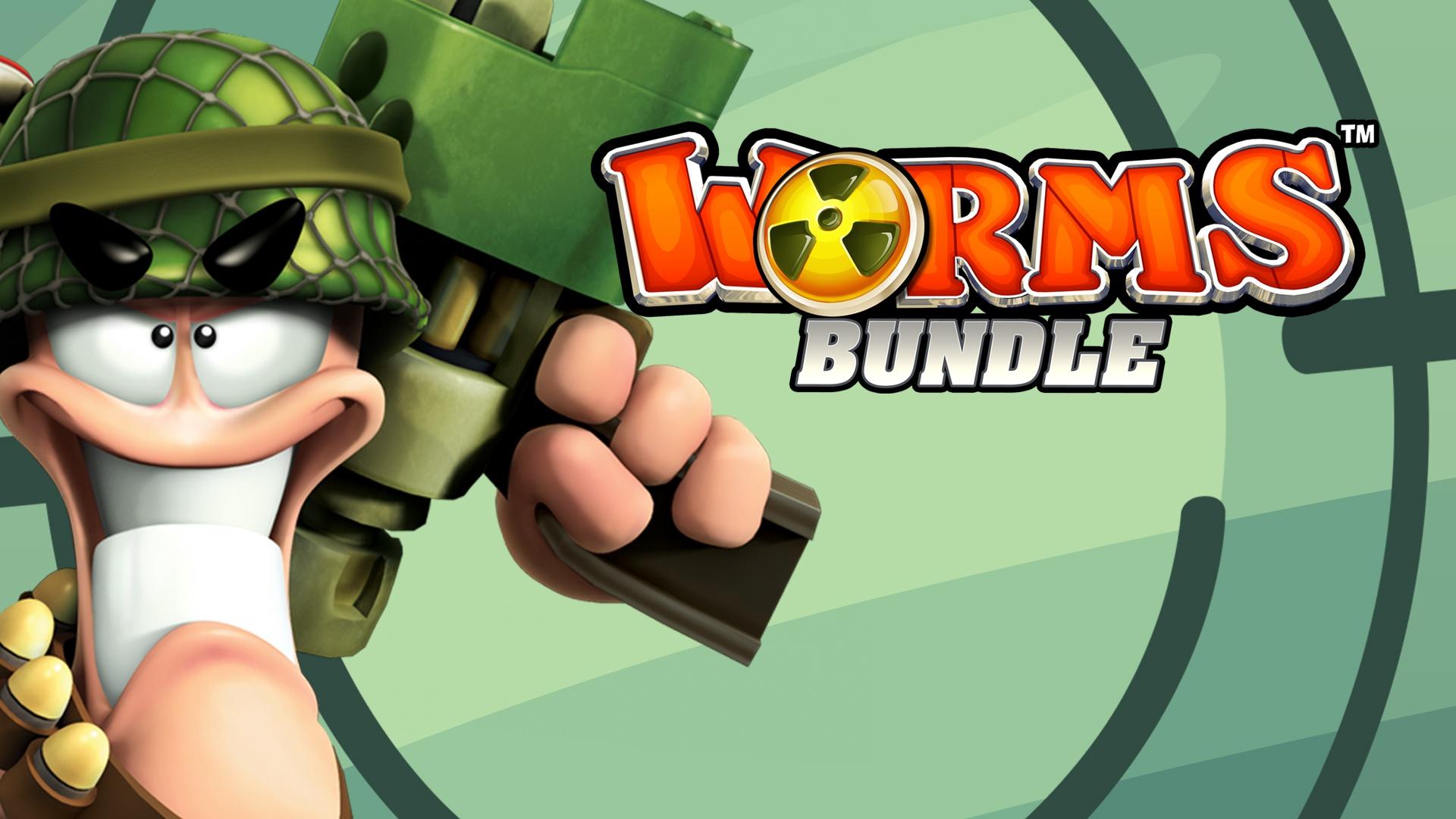 Worms Bundle | Steam Game Bundle | Fanatical
