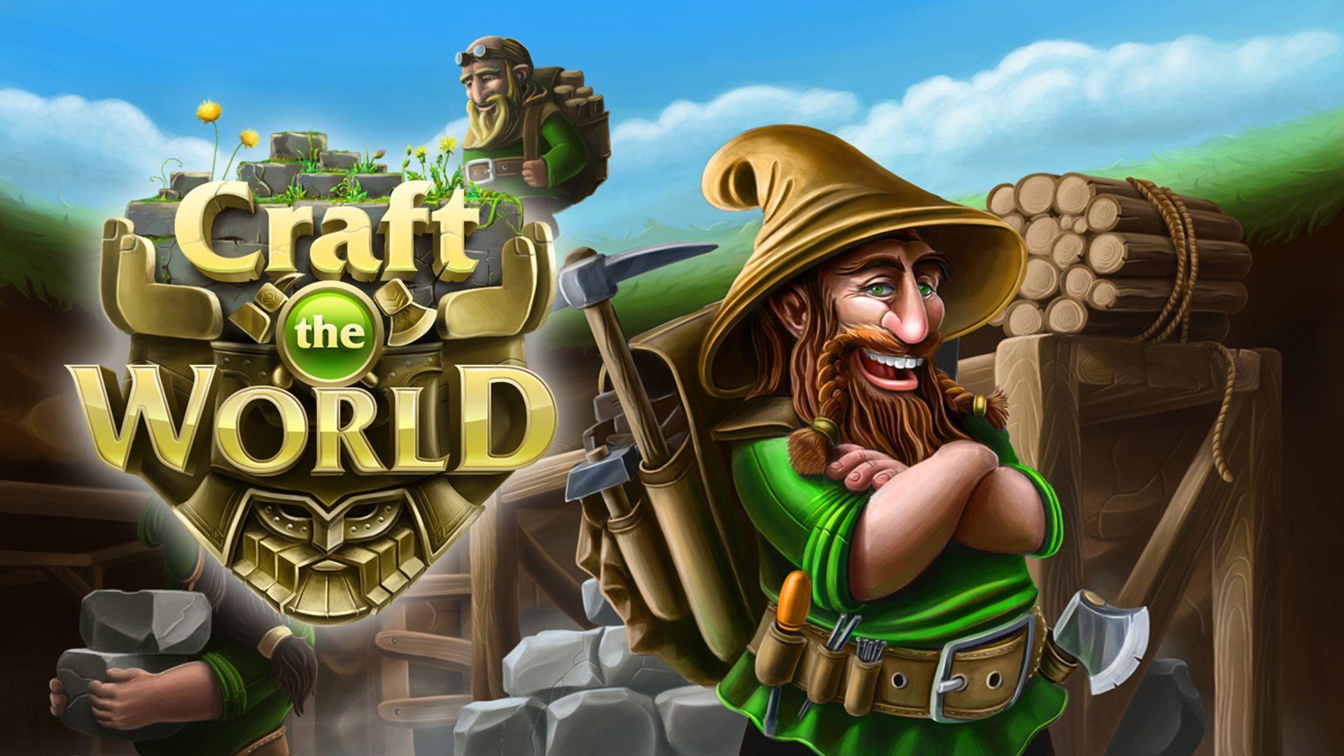 Craft The World | Mac PC Steam Game | Fanatical
