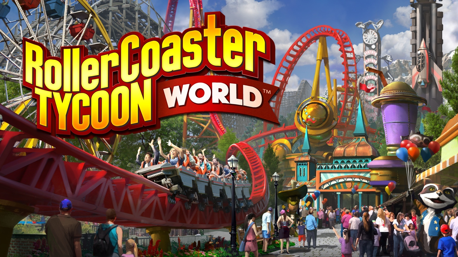 RollerCoaster Tycoon World™ | PC Steam Game | Fanatical