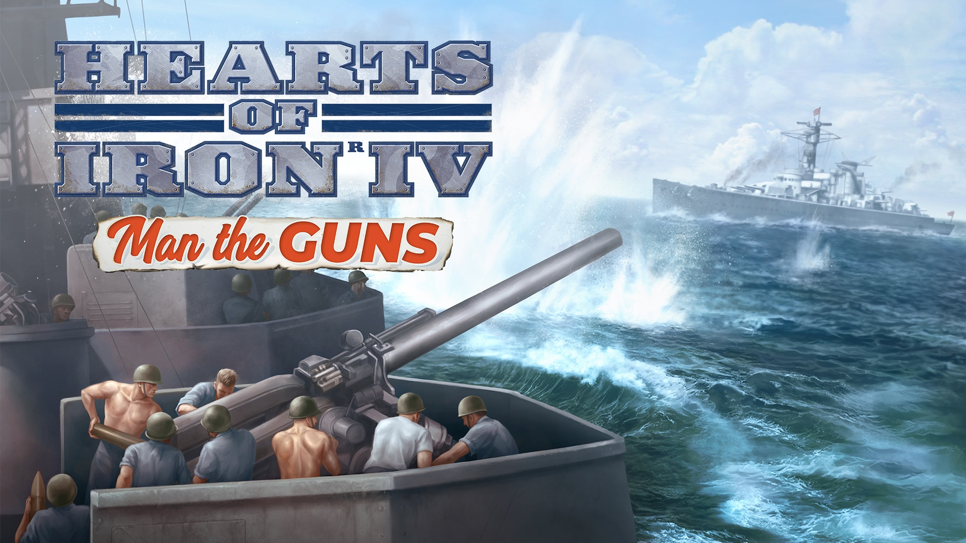 Hearts of Iron IV: Man the Guns | Linux Mac PC Steam Downloadable