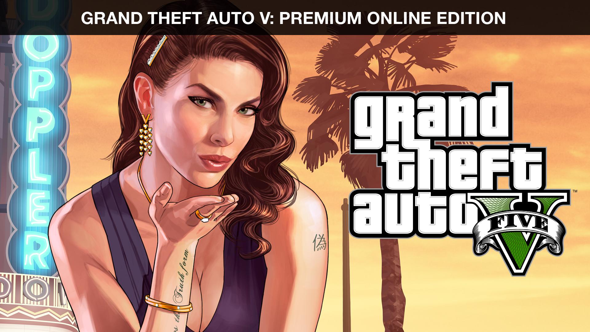GRAND THEFT AUTO V: PREMIUM ONLINE EDITION | PC Rockstar