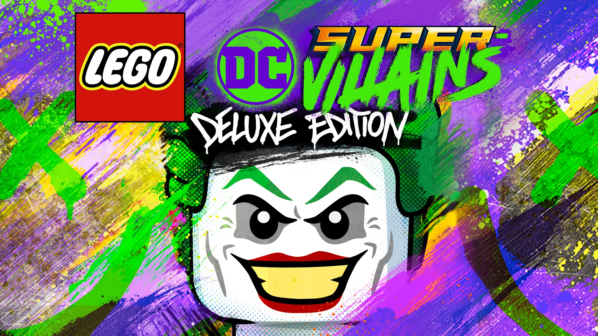 Lego Dc Super Villains Deluxe Edition Pc Steam Game Fanatical
