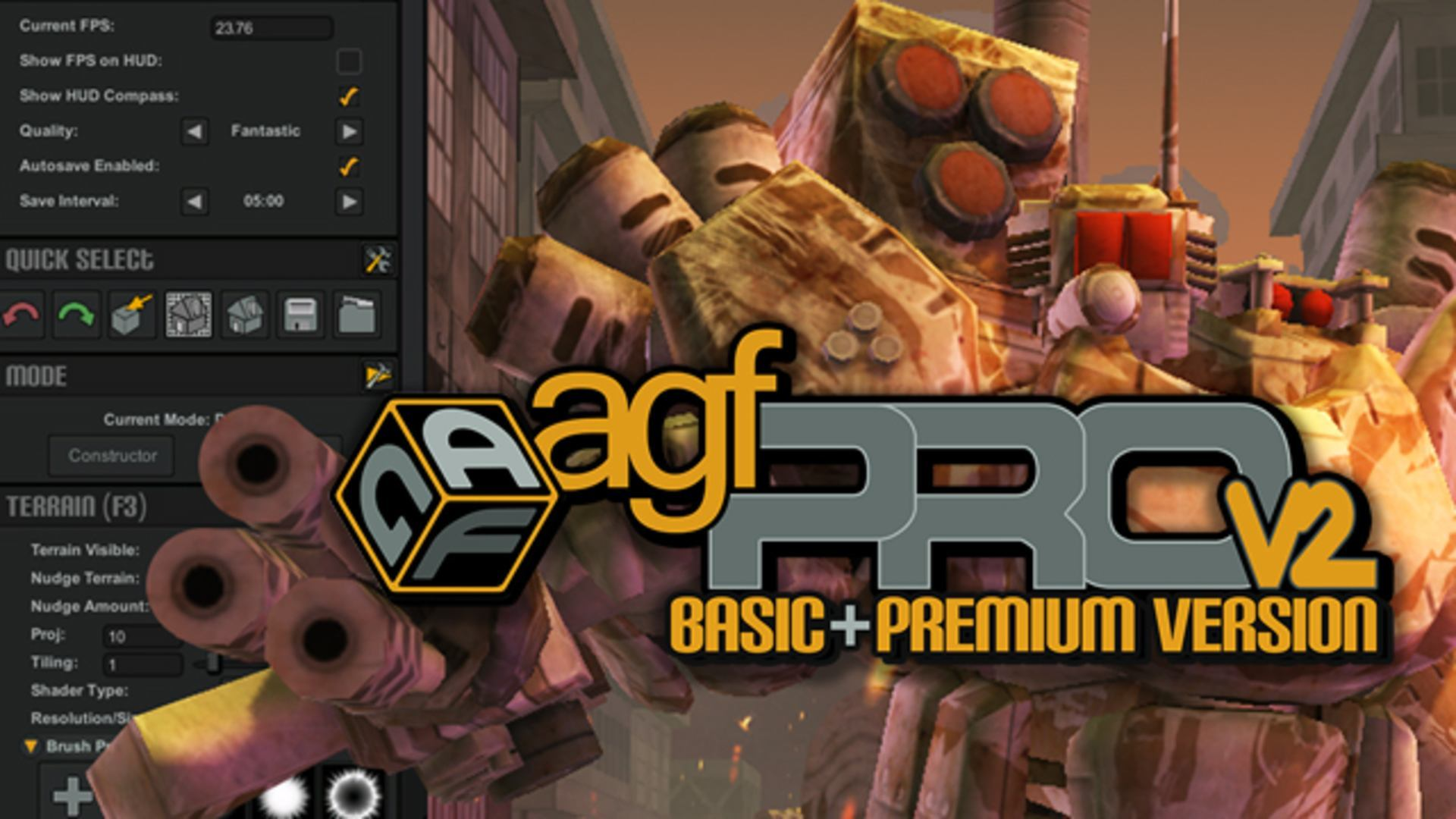 Axis Game Factory's AGFPRO v3 & Premium Bundle | Linux Mac PC Steam
