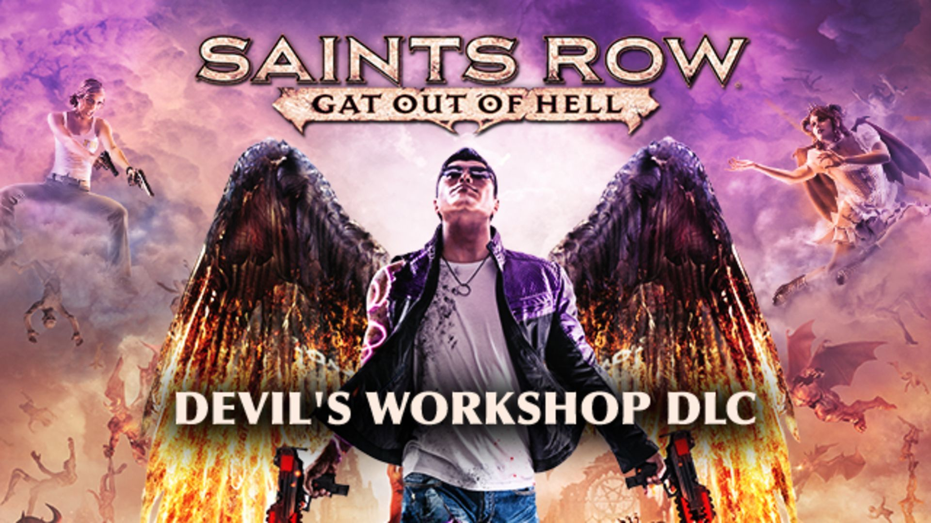 Saint S Row Gat Out Of Hell Devil S Workshop Pack Dlc Pc
