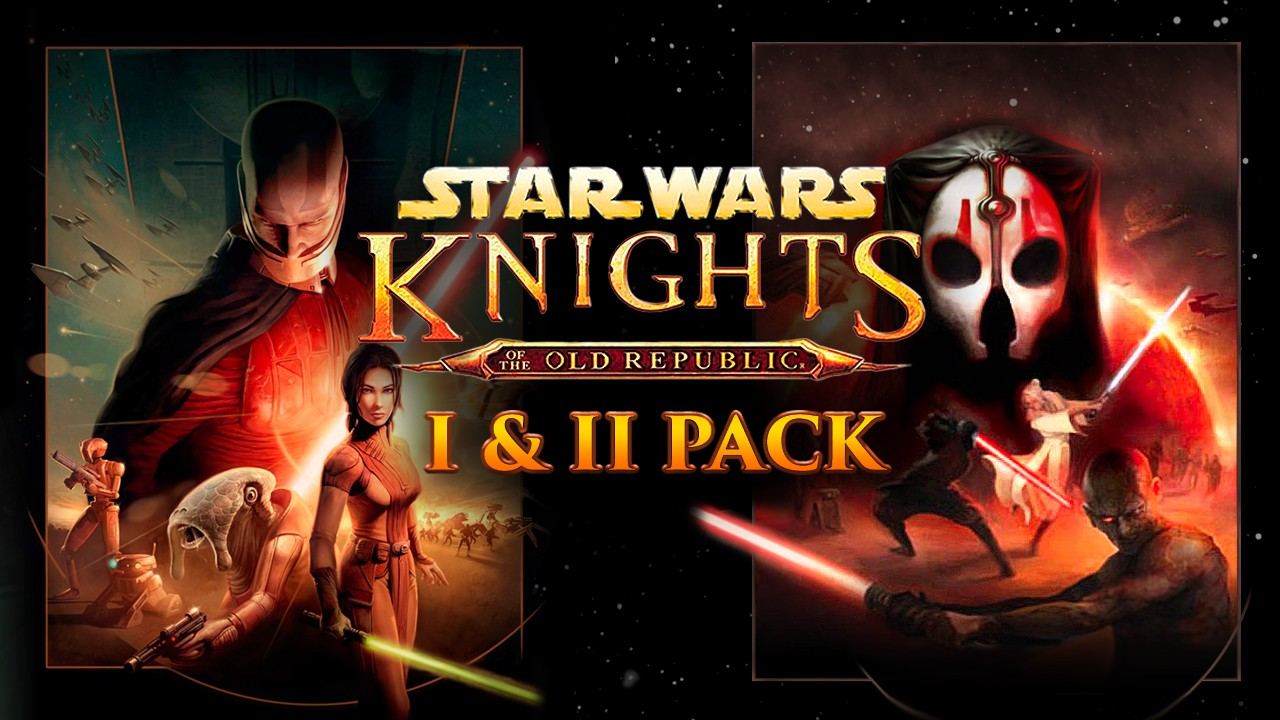 Star Wars: Knights of the Old Republic I & II Pack | Fanatical