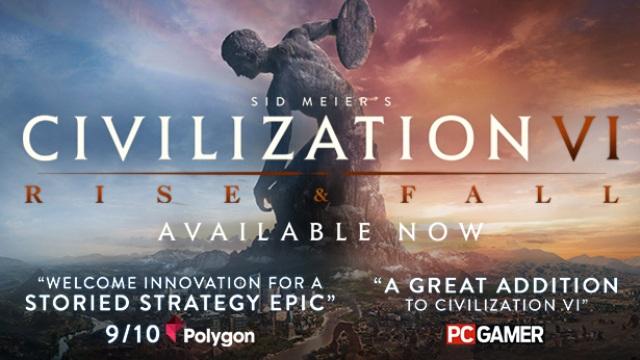 Sid Meier's Civilization VI: Rise and Fall DLC | PC Steam