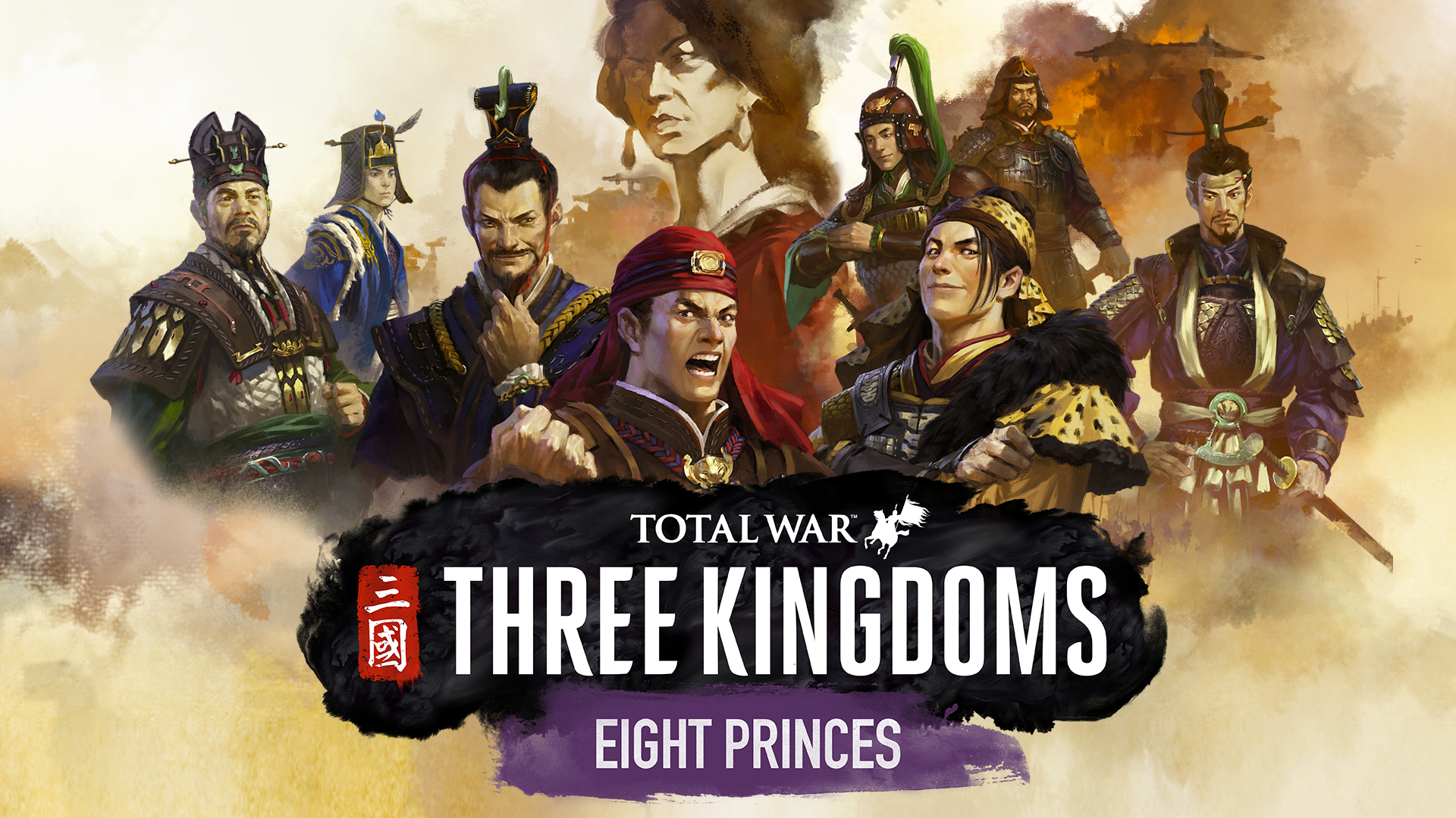 Total War Three Kingdoms Eight Princes Pc Steam Downloadable
