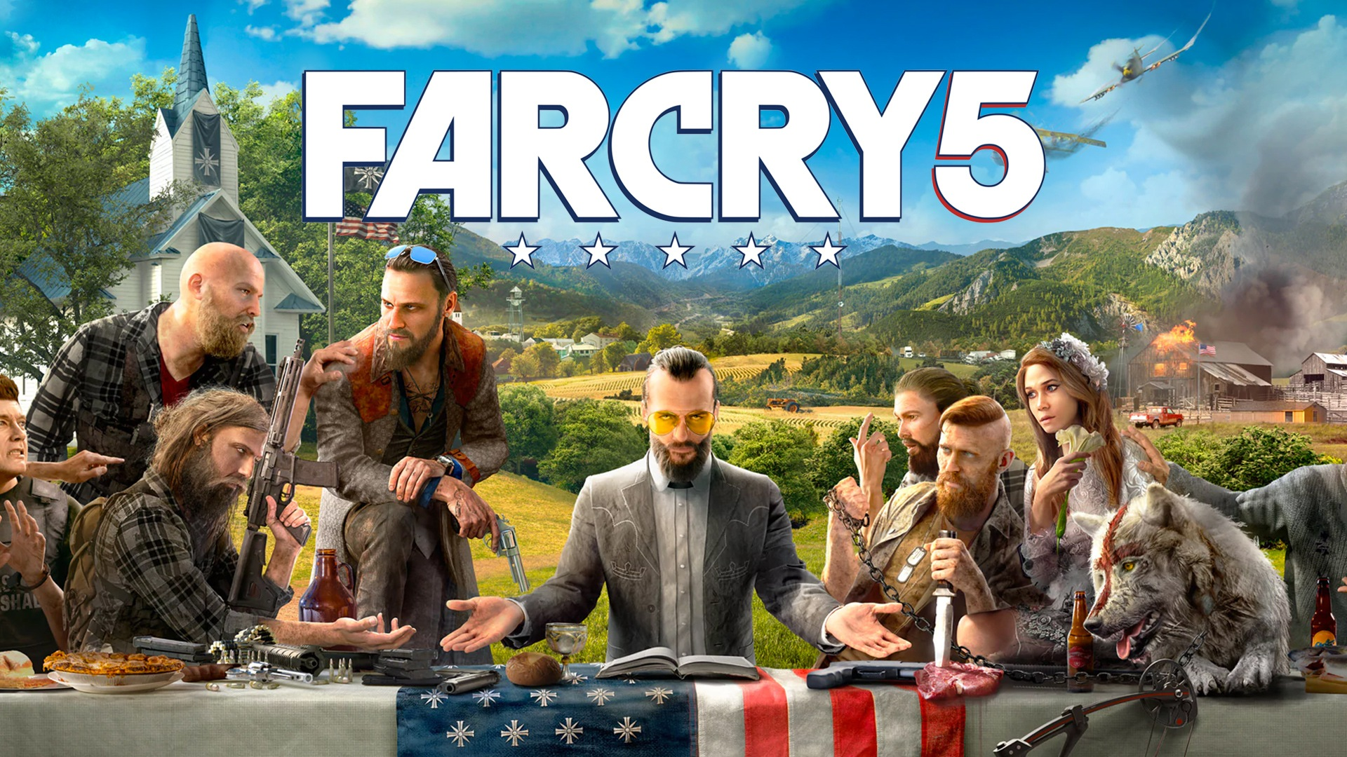 Far Cry 5 Pc Uplay Game Fanatical