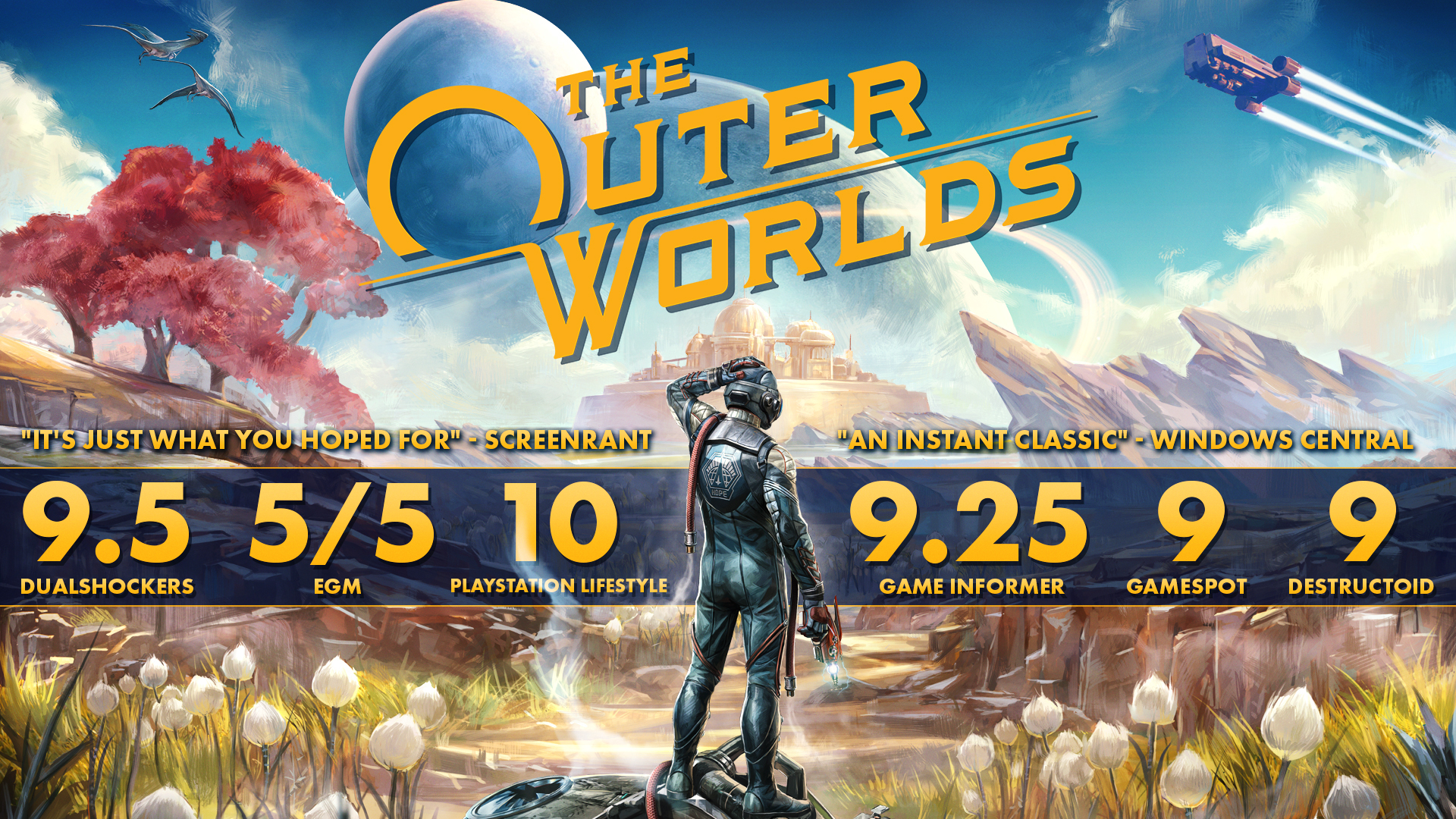 The Outer Worlds Pc Epic Games Fanatical