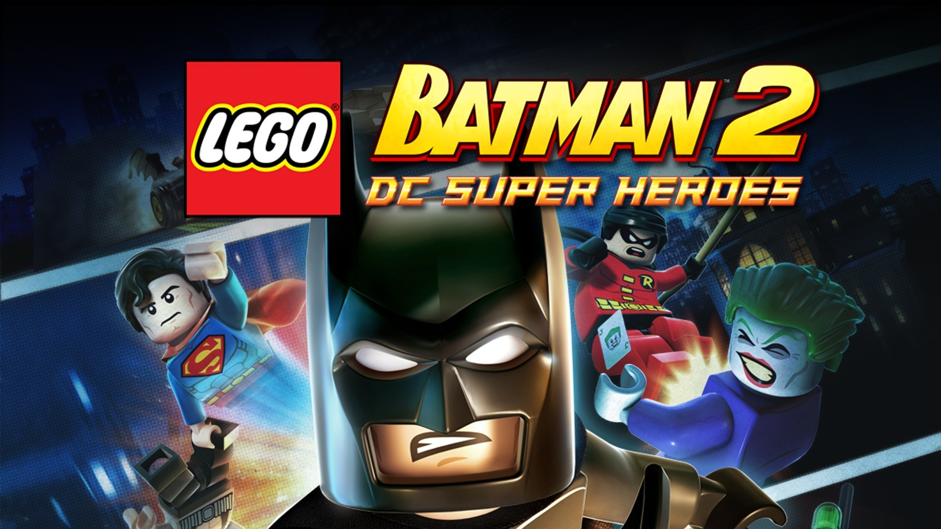 Lego Batman 2 Dc Super Heroes Pc Steam Game Fanatical