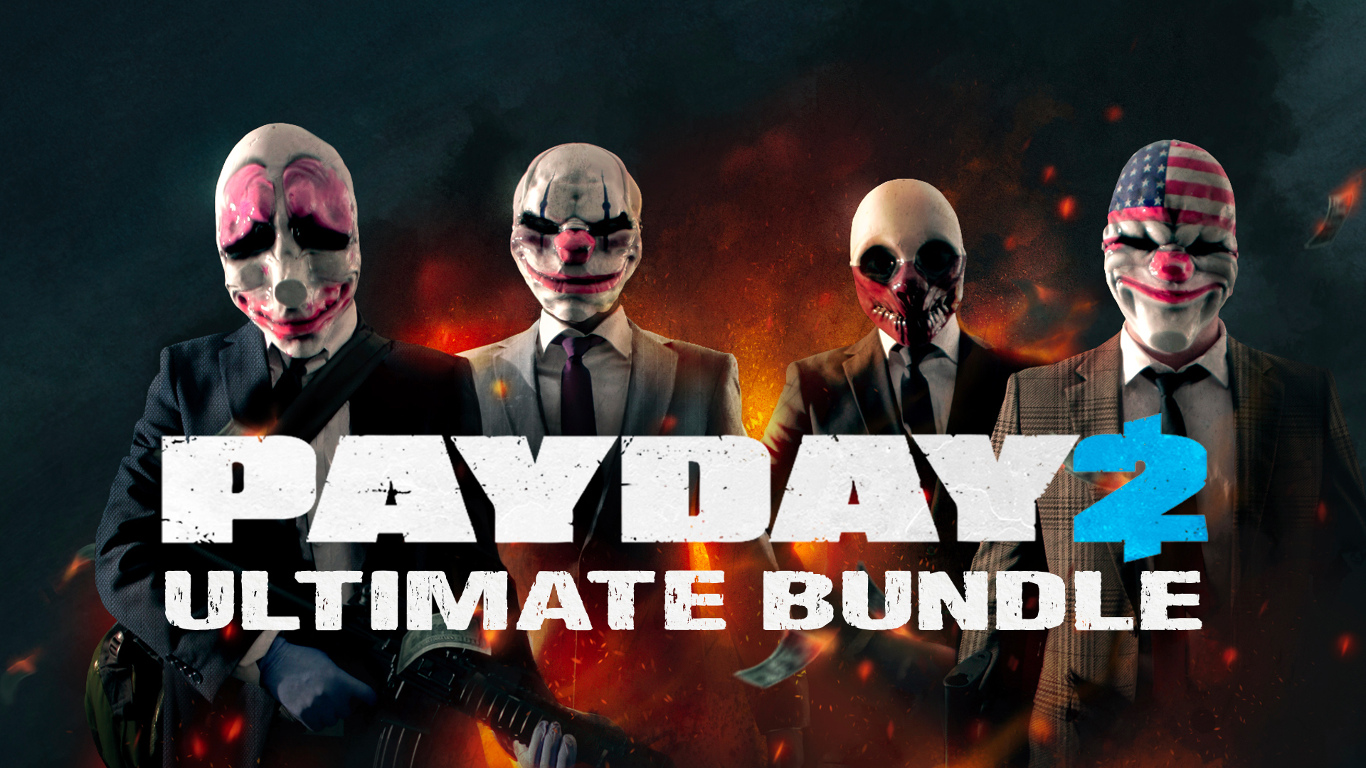 PAYDAY 2 Ultimate Bundle | Steam Game Bundle | Fanatical